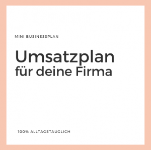 Businessplan Alternative, Businessplan Vorlage