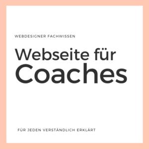 Webseite für Berater