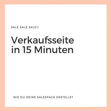 Verkaufsseite erstellen in 15 Minuten mit WordPress Elementor