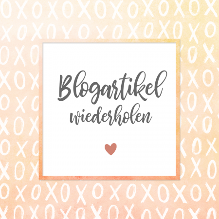 Blogartikel wiederholen
