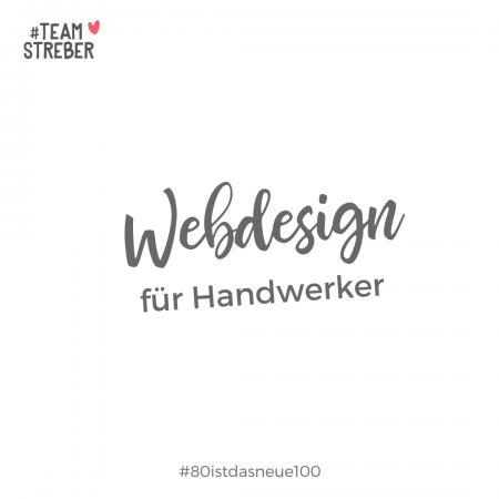 Webdesign für Handwerker