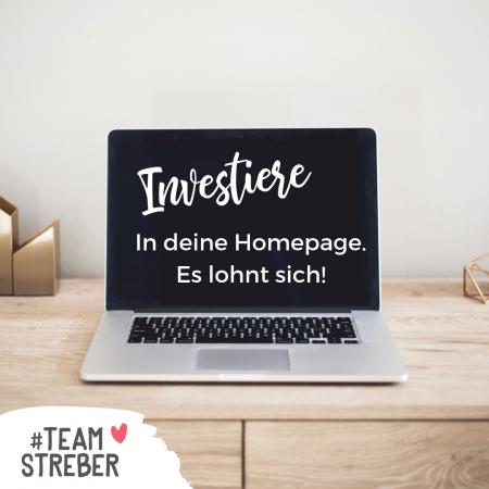 Webdesign Darmstadt - Investiere in deine Homepage, es lohnt sich