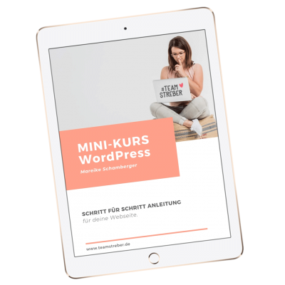 Ipad-WordPress-MINI-Kurs