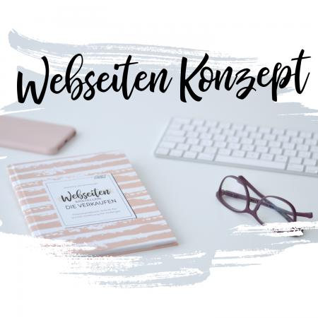 Webseiten Konzept
