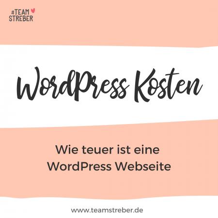 WordPress-Kosten