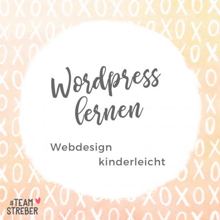 Wordpress lernen: Webdesign Darmstadt Mareike Schamberger, Teamstreber